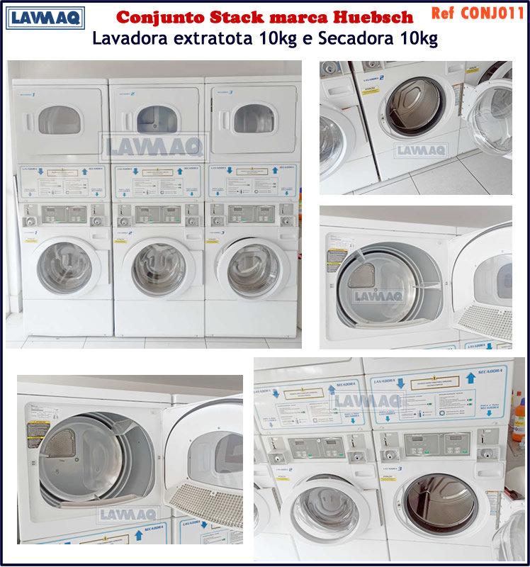 ref CONJ011 conjunto de lavadora e secador 10kg