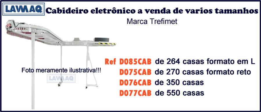 ref D085CAB Cabideiro 264 casas Trefimet