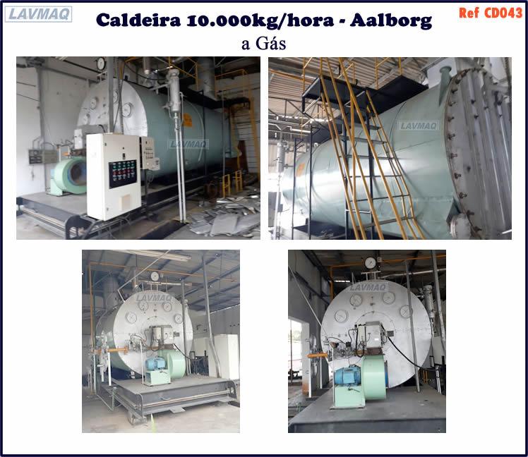 ref CD043 Caldeira de 10000kg h Aalborg