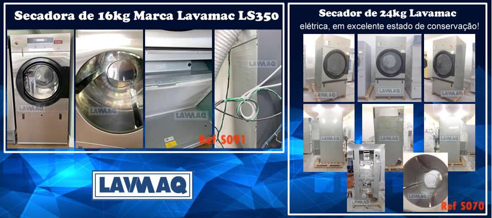 Secadores da marca LAVAMAC