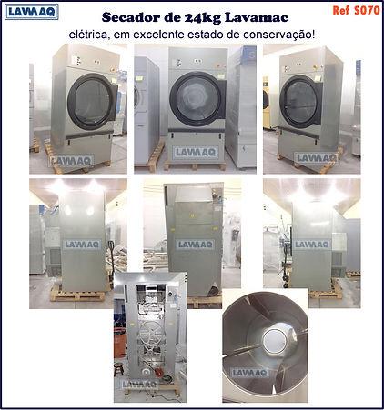 ref S070 secador 24kg Lavamaq eletrica.j
