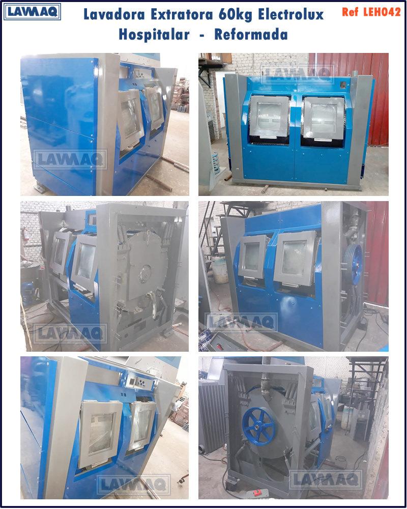 ref LEH042 lavadora extratora 60kg Electrolux