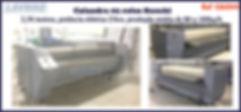 calandra usada 2 rolos Suzuki para lavanderia industrial