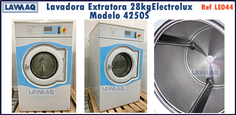 ref LE044 lavadora extratora 28kg Electr