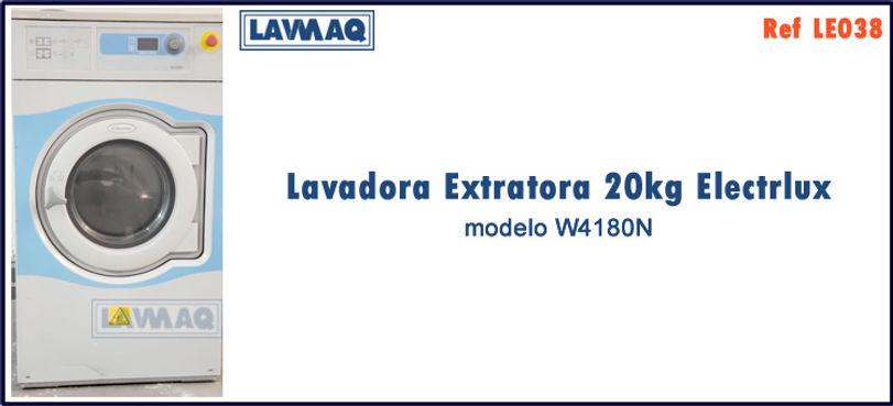 ref LE038 lavadora extratora 20kg Electrolux