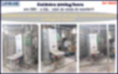 ref CD058 Caldeira usada de 500kg h a gas
