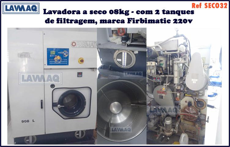 ref SECO032 lavadora a seco 8kg 2 tanque