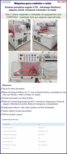 maquina de embalar Advantage Machinery