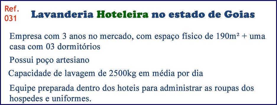 Lavanderia Hoteleira no estado de Goias