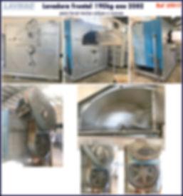 ref LF017 lavadora frontal usada 90kg para lavanderia industrial