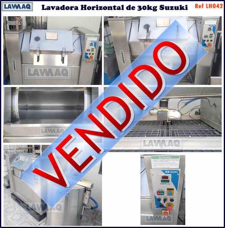 ref LH042 lavadora horizontal 30kg suzuki