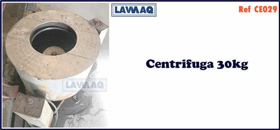 ref CE029 centrifugas 30kg