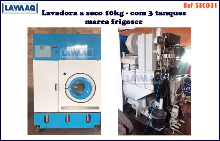 ref SECO031 lavadora a seco 10kg 3 tanques