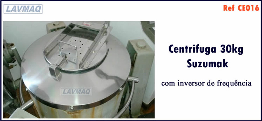 ref CE016 centrifuga 30kg Suzumak