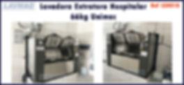 lavadora extratora hospitalar 66kg unimac