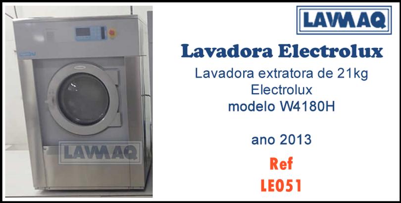 Ref LE051 lavadora extratora 21kg electr