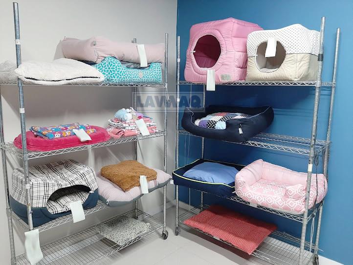 Lavanderia pet e toalheiro