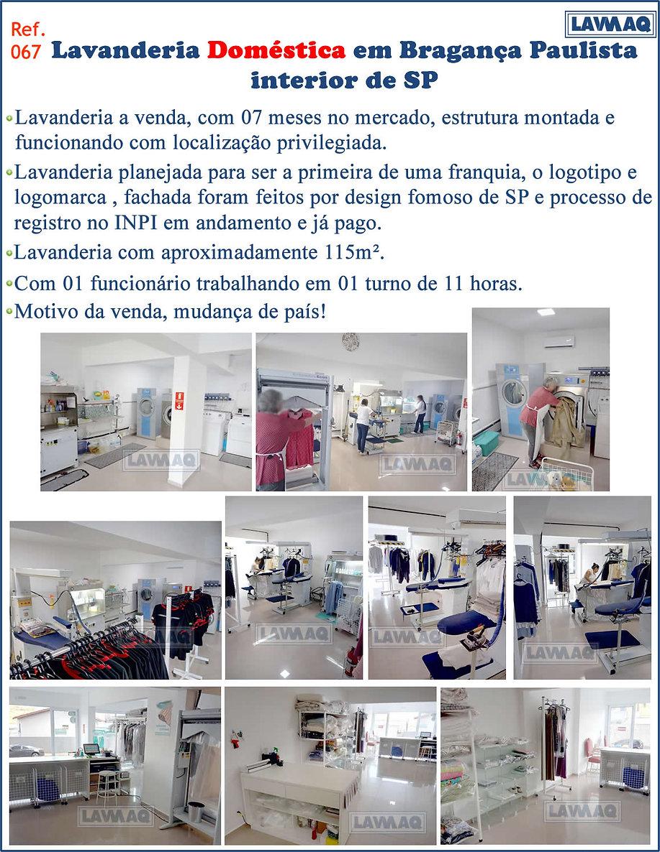 ref 067 lavanderia domestica em Braganca