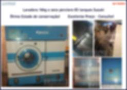 Lavadora a seco 16kg percloro com três tanques Suzuki para lavanderia industrial