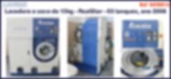 lavadora a seco 15kg Realstar 03 tanques  para lavanderia domestica