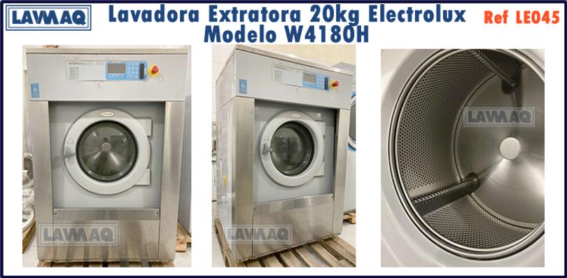 ref LE045 lavadora extratora 20kg Electrolux