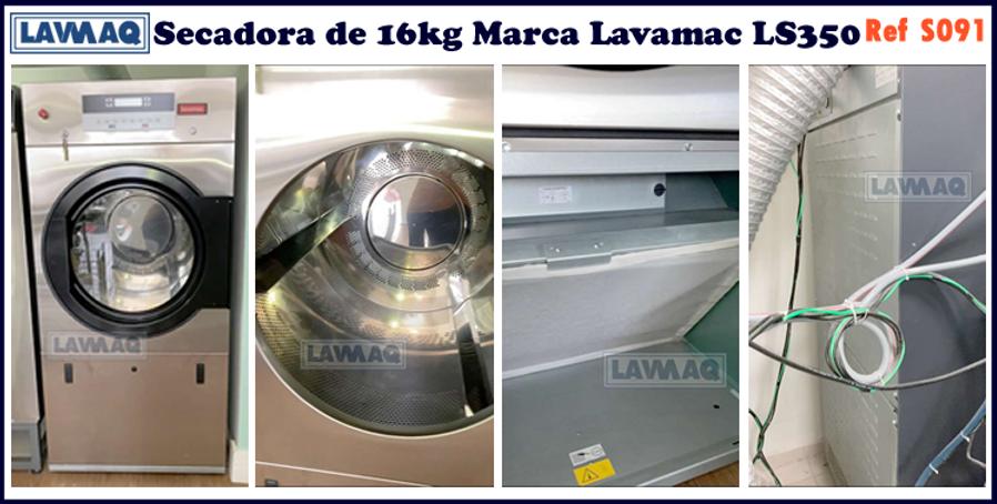 ref S091 secador 16kg  Lavamac LS350