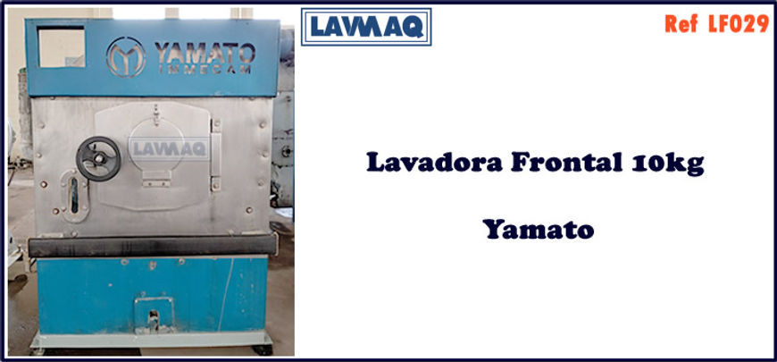 ref LF029 lavadora frontal 10kg Yamato