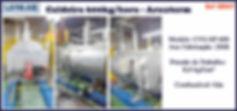 ref CD047 Caldeira usada de 600kg h ano 2008 A