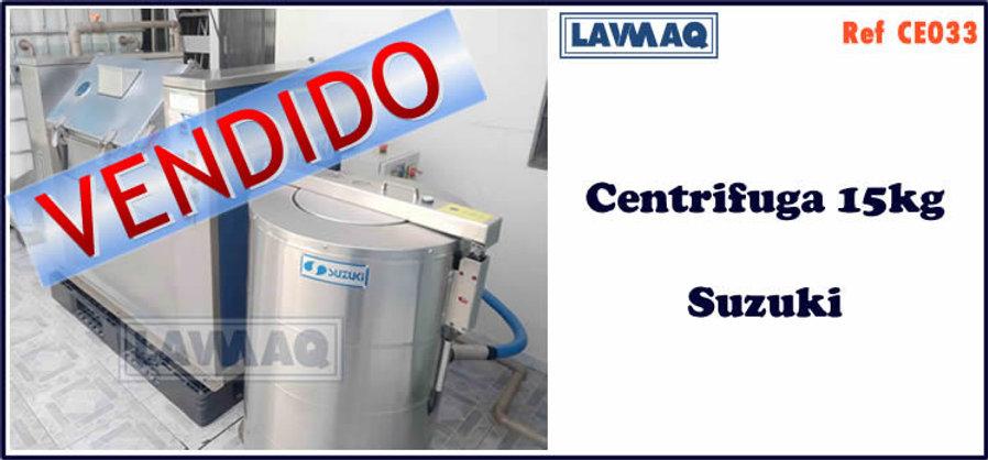 ref CE033 centrifugas 15kg Suzuki