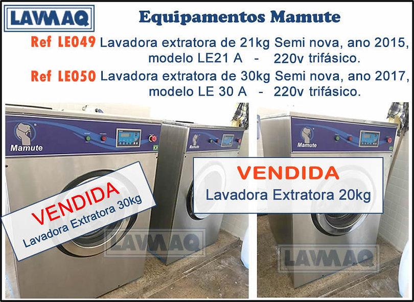 Ref LE049 e LE050 Lote de Equipamentos Mamute.jpg