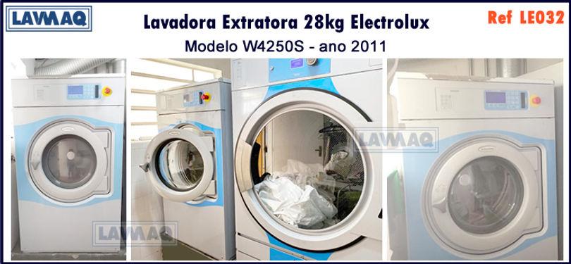 ref LE032 lavadora extratora 28kg Electr