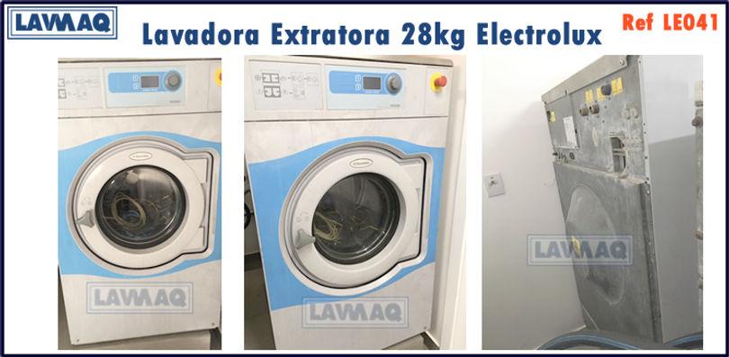 ref LE041 lavadora extratora 28kg Electrollux