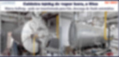 Caldeira de 650kg h a oleo Aalborg