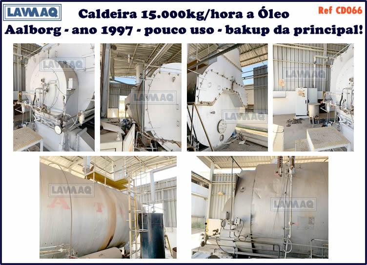 ref CD066 Caldeira de 15 000 kg h Aalborg