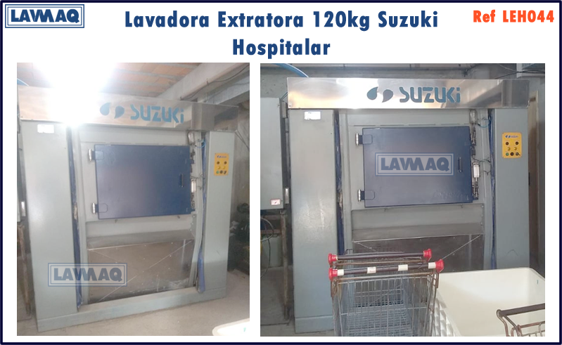 ref LEH044 lavadora extratora120kg Suzuk