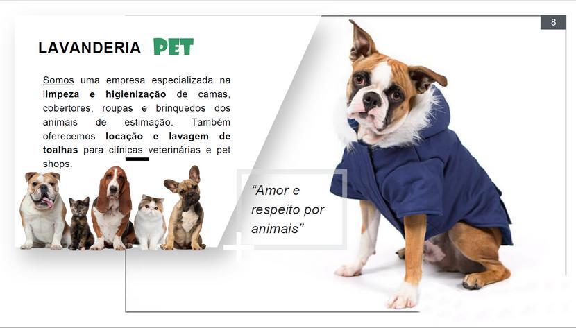 Apresentação Lavanderia Pet e toalheiro pag07