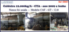 Caldeira 12000kg por hora a venda para lavanderia industrial LAVMAQ