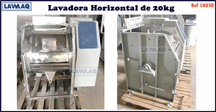 ref LH030 lavadora horizontal 20kg