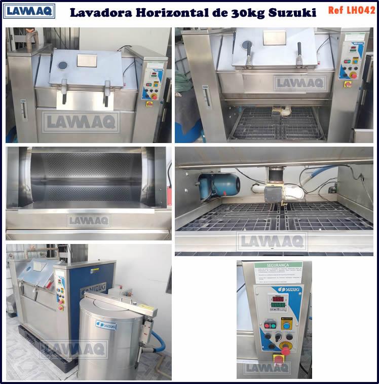 ref LH042 lavadora horizontal 30kg suzuk