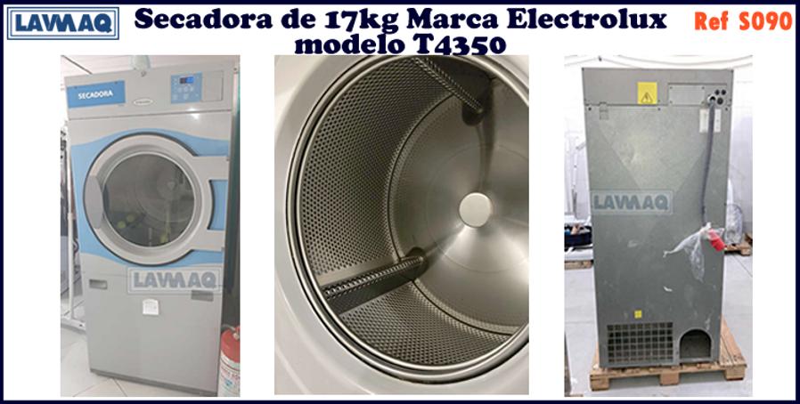 ref S090 secador 17kg  Electrolux T4350.