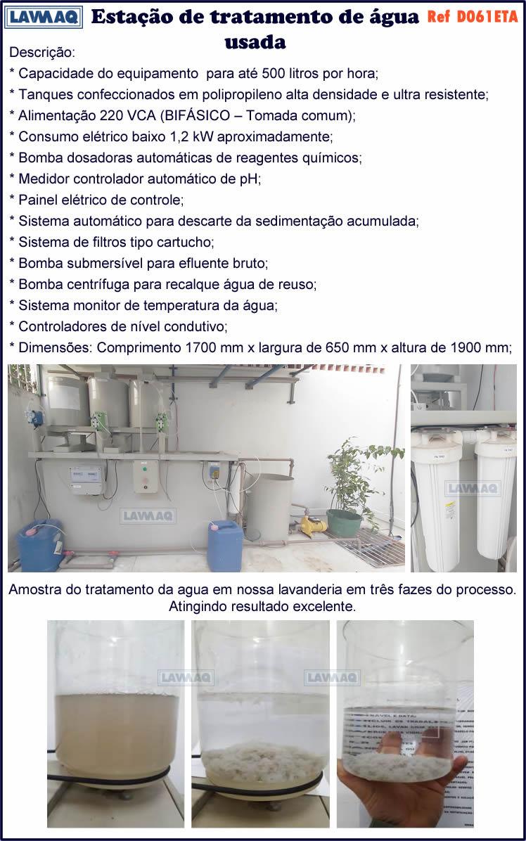 ref D061ETA  estacao de tratamento de agua
