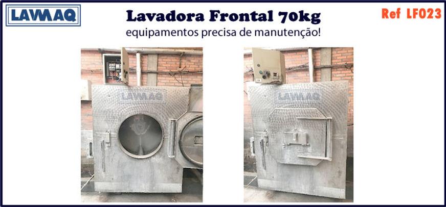 ref LF023 lavadora frontal 70kg