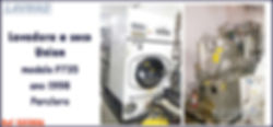 Lavadora a seco 35kg Union percloro para lavanderia industrial