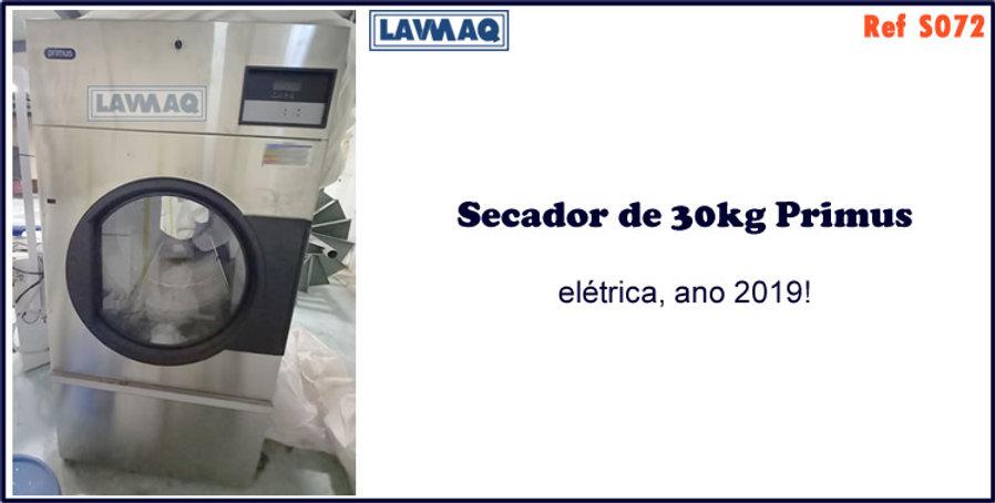 ref S072 secador 30kg eletrico Primus