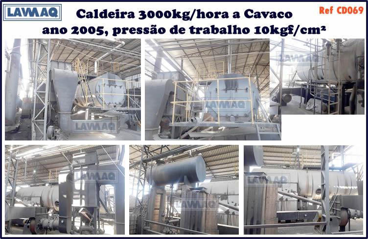 ref CD069 Caldeira de 3000 kg h ano 2005