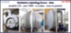Caldeira de 2500kg h ATA