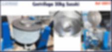 centrifuga 30kg Suzuki