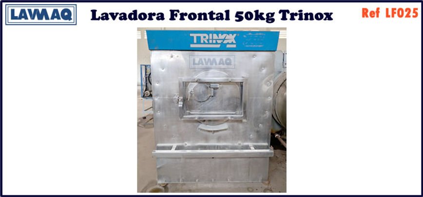 ref LF025 lavadora frontal 50kg trinox