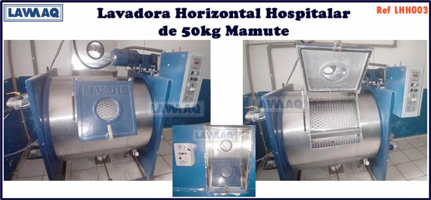 ref LHH003 lavadora horizontal hospitalar