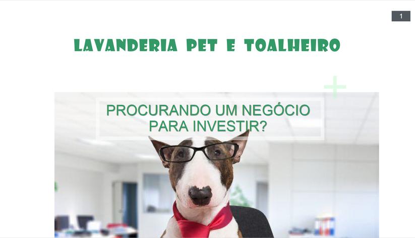 Apresentação Lavanderia Pet e toalheiro pag01